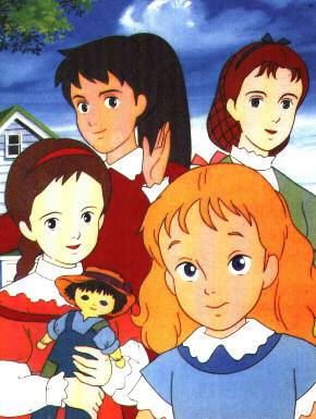 Visuel Quatre Filles du Docteur March (Les) / Ai no wakakusa monogatari (Animes)