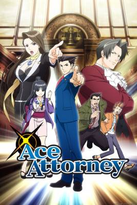 Visuel Ace Attorney / Gyakuten Saiban (逆転裁判) (Animes)