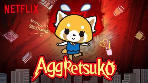 Visuel Aggretsuko / Aggretsuko (Animes)