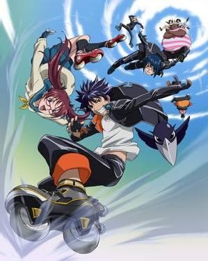 Visuel Air Gear / Air Gear (Animes)