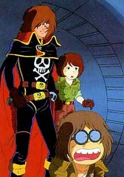 Visuel Albator 78 - Le corsaire de l'espace / Uchu Kaizoku Captain Harlock (Animes)