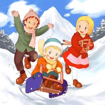 Visuel Dans les Alpes avec Annette / Alps monogatari: Watashi no Annette (Animes)