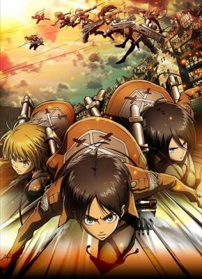 Visuel Attaque des Titans (L') - Shingeki no Kyojin / Shingeki no Kyojin - Attack on Titan (Animes)