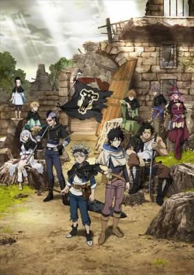 Visuel Black Clover / Black Clover (ブラッククローバー) (Animes)