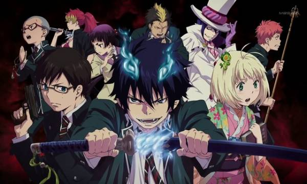 Visuel Blue Exorcist / Ao no Exorcist (青の祓魔師(エクソシスト)) (Animes)
