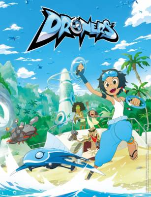 Visuel Droners / Droners (Animes)