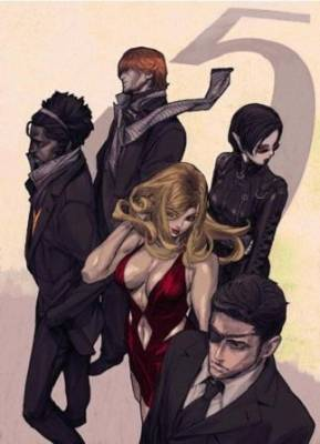 Visuel Five Killers (the) / The Five Killers (Animes)