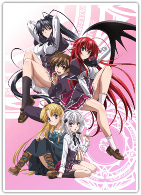 Visuel High School DxD / High School DxD (Animes)