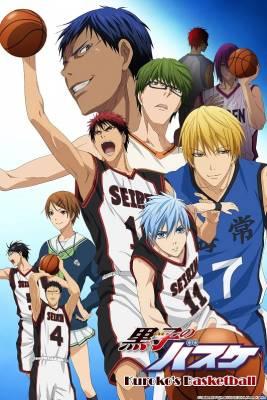 Visuel Kuroko's Basket / Kuroko no Basuke (黒子のバスケ) - The Basketball which Kuroko plays. (Animes)