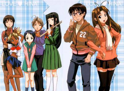 Visuel Love Hina / Love Hina (Animes)