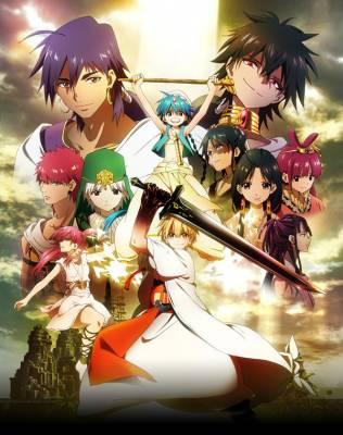 Visuel Magi, The Labyrinth of Magic / Magi - The Labyrinth of Magic (Animes)