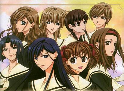 Visuel Maria-sama ga Miteru / Marimite/ La vierge Marie vous regarde (Animes)