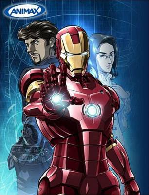 Visuel Iron Man / Iron Man (Animes)