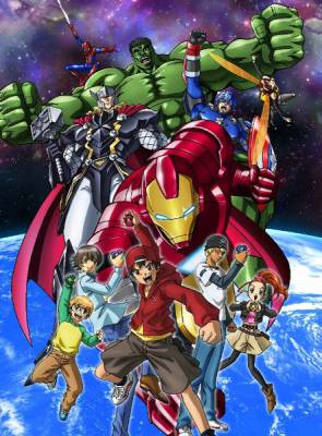 Visuel Marvel Disk War: The Avengers / Marvel Disk War: The Avengers (Animes)