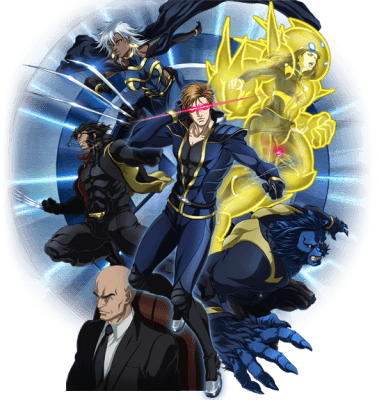 Visuel X-men / X-men (Animes)