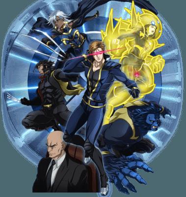 Visuel X-men / X-men (Animes)
