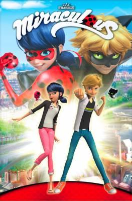 Visuel Miraculous, les aventures de Ladybug et Chat Noir / Miraculous, les aventures de Ladybug et Chat Noir (français)<br /> Miraculous - Ladybug & Chat Noir (ミラキュラス レディバグ&シャノワール ) (japonais)<br /> Miraculous - Ladybug & Blackcat (미라큘러스: 레이디버그와 블랙캣) (coréen) (Animes)