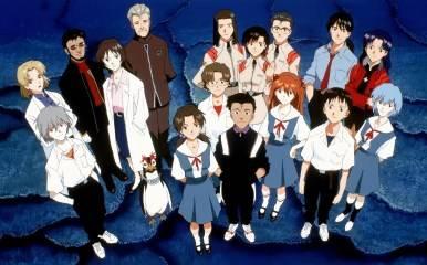 Visuel Neon Genesis Evangelion / Shin Seiki Evangelion (Animes)
