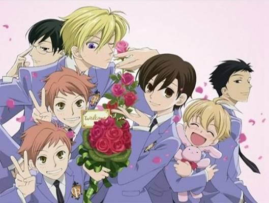 Visuel Host Club Ouran High School / Ouran Koukou Host Club (Animes)