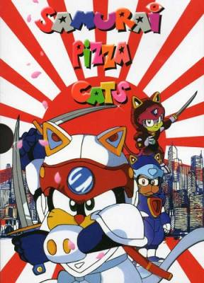 Visuel Samurai Pizza Cats / Kyatto Ninden Teyande (Animes)