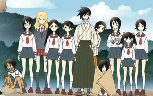 Visuel Sayonara Zetsubou-sensei / Sayonara Zetsubou-sensei (Animes)