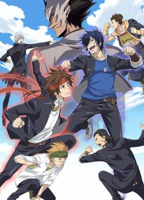 Visuel Gakuen Basara / Gakuen Basara (学園BASARA) (Animes)