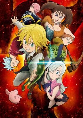 Visuel Seven Deadly Sins (The) / Nanatsu no Taizai - The Seven Deadly Sins (Animes)