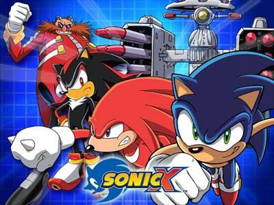 Visuel Sonic X / Sonic X (Animes)