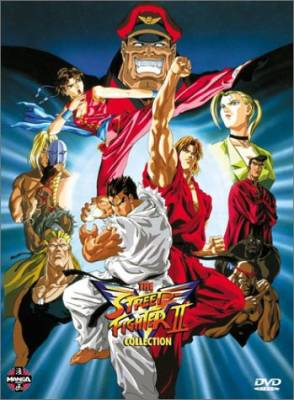 Visuel Street Fighter 2V / Street Fighter 2V (Animes)