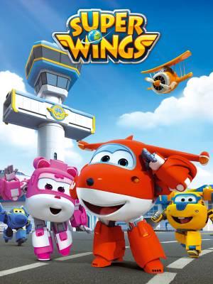 Visuel Super Wings, Parés au décollage ! / coréen: 출동! 슈퍼윙스<br /> chinois: 超级飞侠 (Animes)