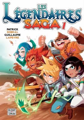 Visuel Légendaires Saga (Les) / Les Légendaires Saga (Émules)