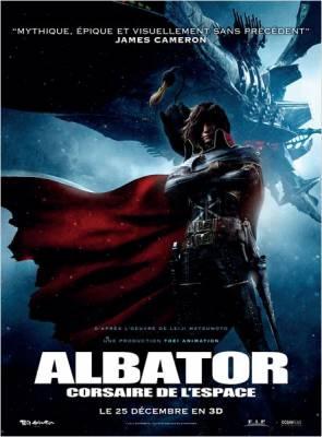 Visuel Albator - Corsaire de l'Espace / Space Pirate Captain Harlock (Films d'animation)