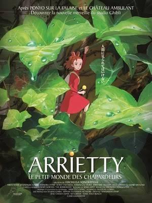 Visuel Arrietty - Le Petit Monde des Chapardeurs / Karigurashi no Arrietty (Films d'animation)