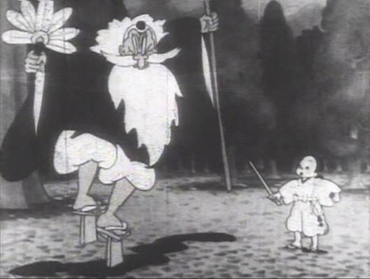 Visuel Benkei contre Ushiwaka / Benkei tai Ushiwaka (べんけい対ウシワカ / 弁慶対牛若) (Films d'animation)