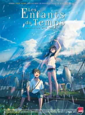 Visuel Enfants du Temps (Les) - Weathering With You / Tenki no ko (天気の子) - Weathering with you (Films d'animation)