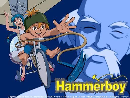Visuel Hammerboy / Hammerboy (Films d'animation)