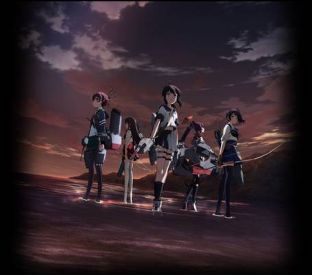 Visuel Kantai Collection - KanColle / Kantai Collection - KanColle (艦隊これくしょん -艦これ-) (Films d'animation)