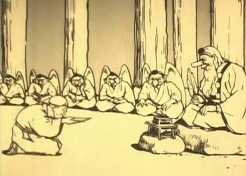 Visuel Tarôbee chez les lutins / Kobutori (瘤取り) (Films d'animation)