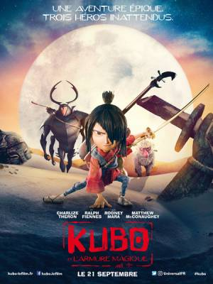 Visuel Kubo et l'Armure Magique / Kubo and the Two Strings (Films d'animation)