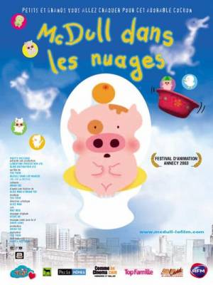 Visuel McDull dans les nuages / My life as McDull (Mak Dau Goo Si) (Films d'animation)
