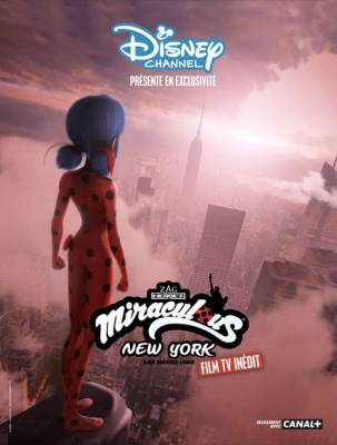 Visuel Miraculous New York : Les Héros unis / Miraculous New York : Les Héros unis / Miraculous World: New York - United HeroeZ (Films d'animation)