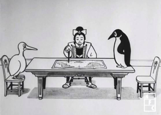 Visuel Momotarô, le justicier des airs / Sora no Momotarou (空の桃太郎) (Films d'animation)