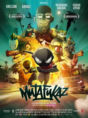 Visuel Mutafukaz / Mutafukaz (Films d'animation)