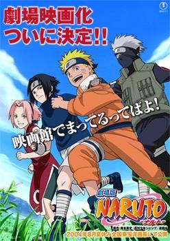 Visuel Naruto et la Princesse des neiges (Film 1) / Naruto - Dai Katsugeki!! Yuki Hime Shinobu Houjou DatteBayo! (Films d'animation)