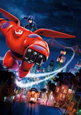 Visuel Nouveaux Héros (Les) / Big Hero 6 (Films d'animation)