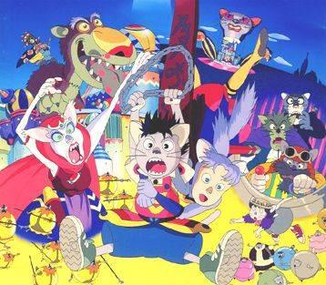 Visuel Papadoll au pays des chats / Totsuzen! Neko no Kuni Banipal Witt- Catnapped ! (Films d'animation)