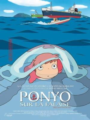 Visuel Ponyo sur la Falaise / Gake no Ue no Ponyo (Films d'animation)