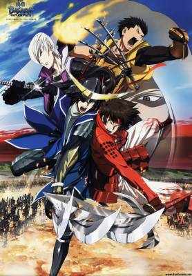 Visuel Sengoku Basara - The Last Party / Gekijouban Sengoku Basara: The Last Party (Films d'animation)