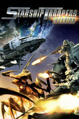 Visuel Starship Troopers Invasion / Starship Troopers Invasion (Films d'animation)