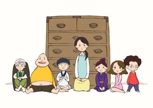 Visuel Esprits pas commodes (Des) / Tansu Warashi. (たんすわらし。) (Films d'animation)